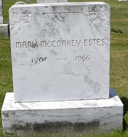 Mary <i>McConkey</i> Estes