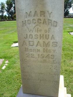 Mary <i>Hoggard</i> Adams