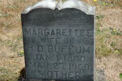 Margarette E. <i>Barks</i> Buffum