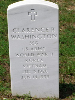 Clarence B Washington
