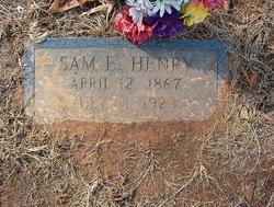 Samuel E. Sam Henry