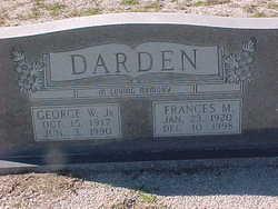 Frances <i>May</i> Darden