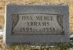 Osa Merle <i>Allison</i> Abrams