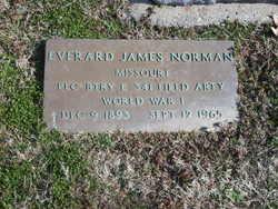 PFC Everard James Norman