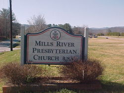 Mills River Presbyterian Church Cemetery