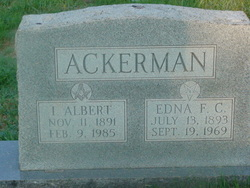 I Albert Ackerman