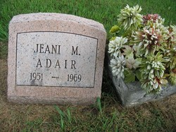 Jeani M Adair
