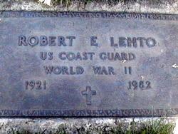 Robert Eugene Bob Lehto