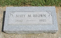 Mary M. Brown