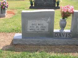 Inez <i>Rose</i> Davis