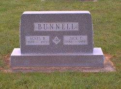 Agnes Rachel <i>Kellenberger</i> Bunnell