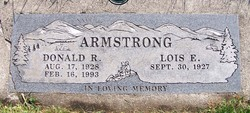 Donald R Armstrong