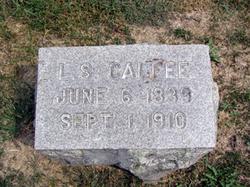 Leander Sanders Calfee, Sr