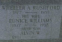 Alvin W Rushford