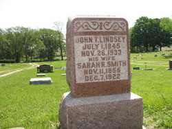 Sarah Rebecca <i>Smith</i> Lindsey