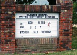 Glenns Chapel Methodist Church Cemetery