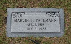 Marvin Frederick Carl Pasemann