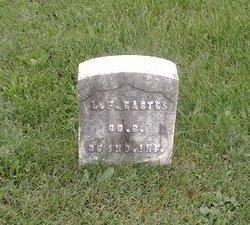 Pvt Lemuel F. Eastes