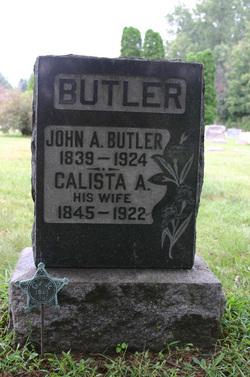 Calista Ann <i>Belman</i> Butler