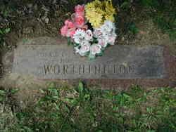 Clara Olive Ollie <i>Timm</i> Worthington