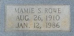 Mamie <i>Singer</i> Rowe