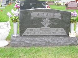 Ethel E <i>Fowler</i> Adair