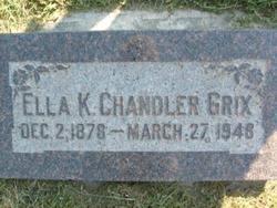 Ella Kerron <i>Chandler</i> Grix