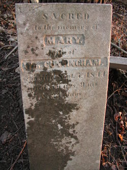 Mary <i>Humes</i> Cunningham