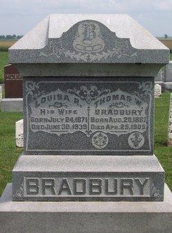 Louisa R. <i>Burnett</i> Bradbury