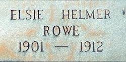 Elsie Helmer Rowe