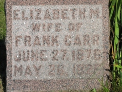 Elizabeth M. Lizzie <i>Fisher</i> Carr