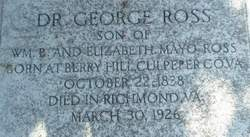 Dr George Ross