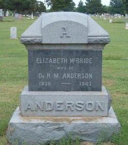 Elizabeth <i>McBride</i> Anderson