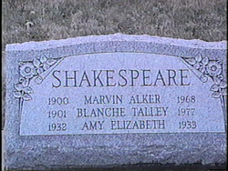 Amy Elizabeth Shakespeare