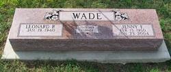 Jenny Fay <i>Likens</i> Wade