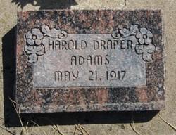 Harold Draper Adams