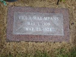 Letha Viola May Evans <i>Tingle</i> Means