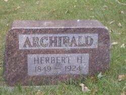 Herbert H Archibald