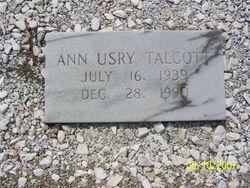 Ann <i>Usry</i> Talcott