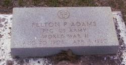 Felton P Adams
