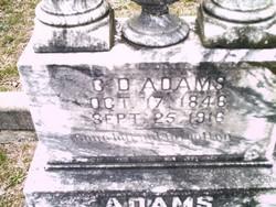 Charles Daniel CD Adams
