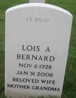 Lois Ann <i>Uden</i> Bernard