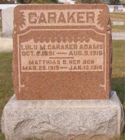Lulu M. <i>Caraker</i> Adams