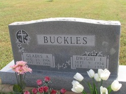 Gladys Alva <i>Hendricks</i> Buckles
