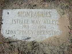 Edna Peggy <i>Montague</i> Bernstrom