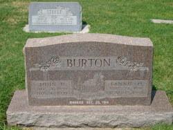 Fannie Electa <i>Oram</i> Burton