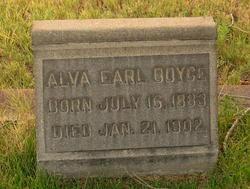 Alva Earl Boyce