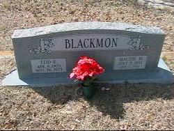 Edward Earl Edd Blackmon