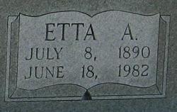 Etta Ann Ettie <i>Young</i> Cathey