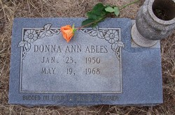 Donna Ann Ables